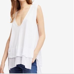 Free People | We the Free | white Peachy Top